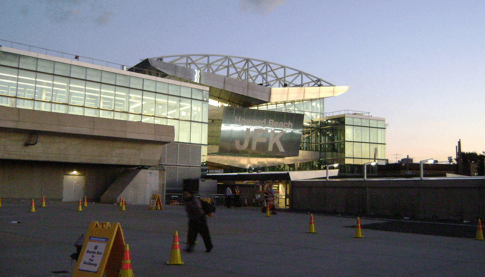 John F. Kennedy International Airport i USA.