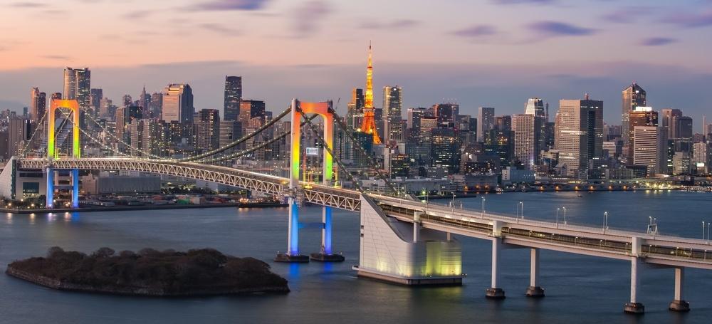 Vejen til ski i Japan går gennem hovedstaden Tokyo.