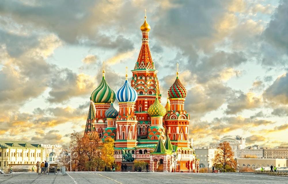 moskva st basils katedral