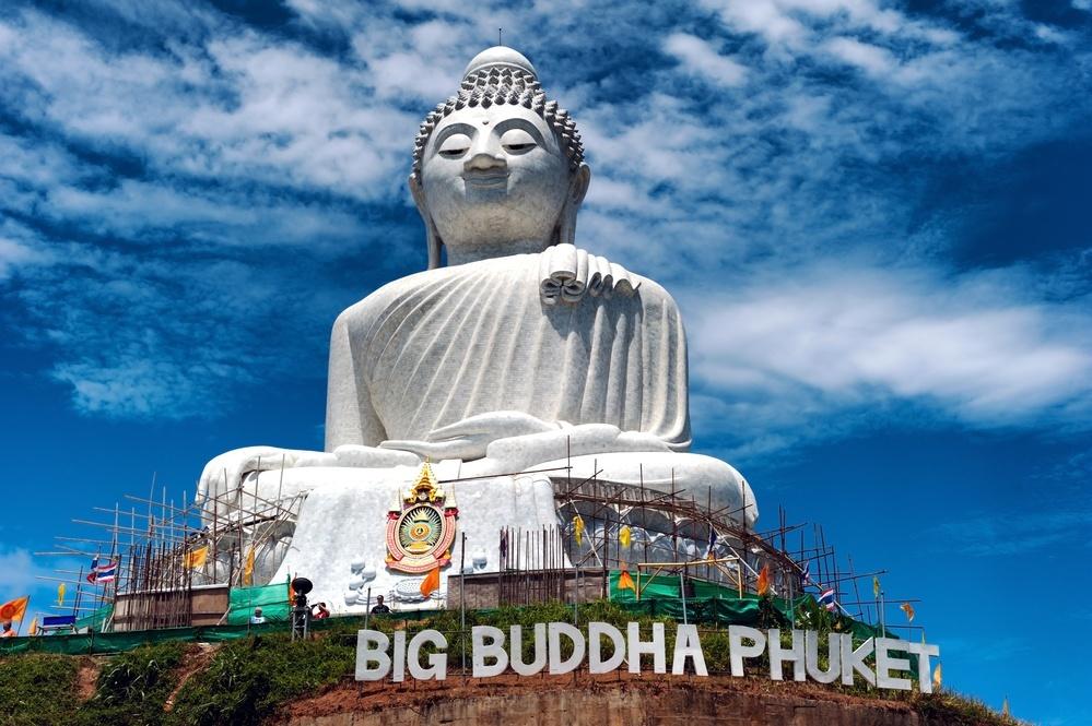 Big Buddha i Chalong i (Phuket)