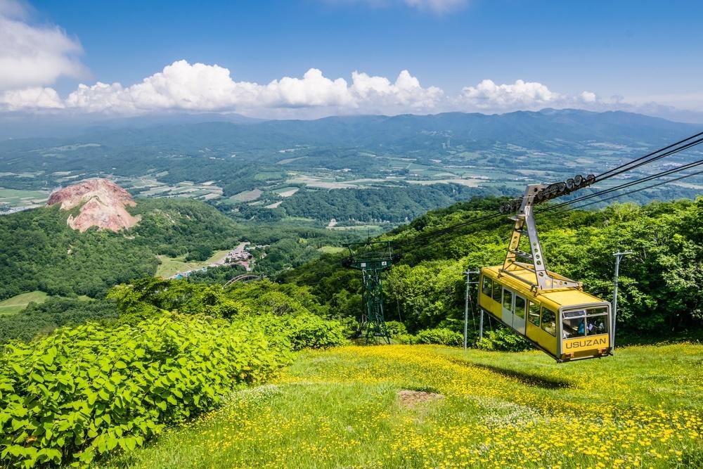 Hokkaido om sommeren