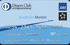 Diners Club-kortet giver 15 bonuspoints per 100 kroner, men er så godt som ubrugeligt i Danmark.