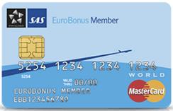 MasterCard fra SAS giver 10 bonuspoints per 100 kroners brug og er umiddelbart bedste danske bud på et bonuspoint-kreditkort.