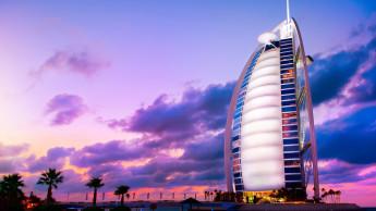 Burj Al Arab hotel i Dubai