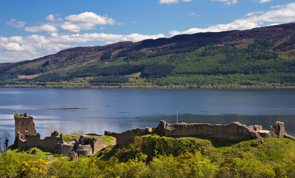 Besøg Loch Ness (Skotland)