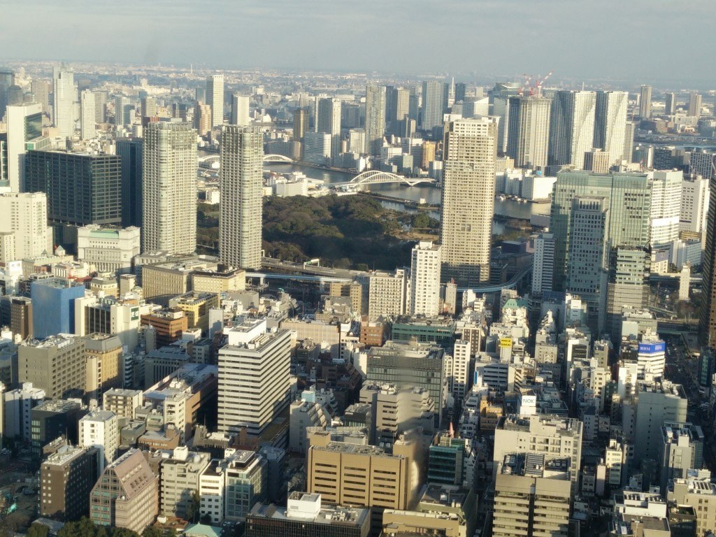 tokyo højhuse skyskrabere dagslys